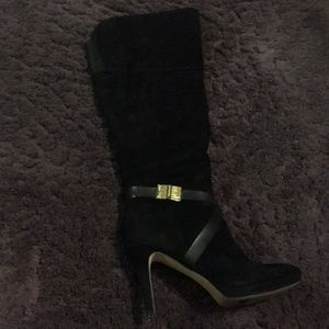 Marc Fisher knee high heeled boots